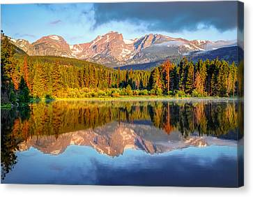 Fort Collins Canvas Print - All Is Calm - Rocky Mountain National Park by Gregory Ballos