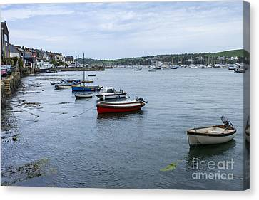 Kernow Canvas Print - All Lined Up by Brian Roscorla