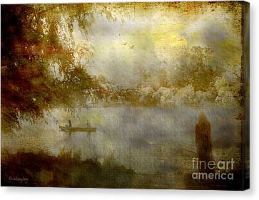 Canvas Print featuring the photograph All Night Vigil ... by Chris Armytage