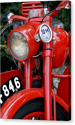 All Original English Motorcycle Canvas Print