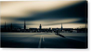 All Roads Lead To ... Canvas Print