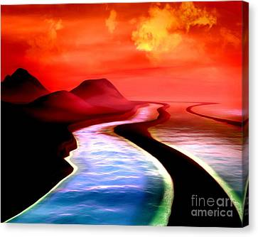 All Roads Lead To Styx Canvas Print