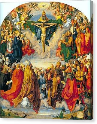 All Saints 1511 Canvas Print by Philip Ralley
