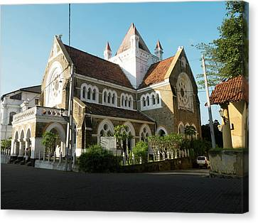 All Saints Church, Church Street, Galle Canvas Print by Panoramic Images