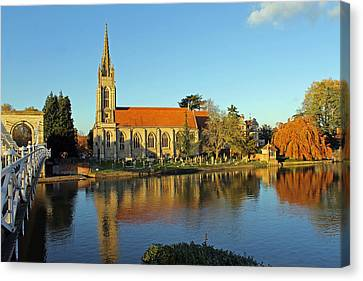 All Saints Church Marlow Canvas Print