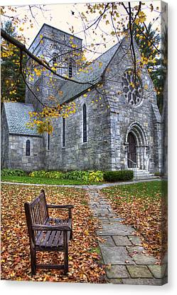 All Saints Church - Peterborough Nh Canvas Print