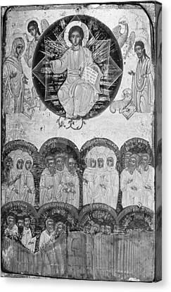 All Saints Canvas Print by Greek Painter