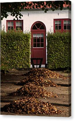 All Seasons Lead To Your Door Canvas Print by Odd Jeppesen