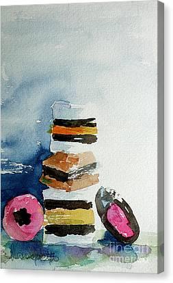 Licorice Canvas Print - All Sorts by Marisa Gabetta