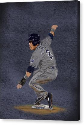 All Star Game Canvas Print - All-star Everth by Jeremy Nash