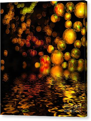 All That Glitters Is Gold Canvas Print by Amy Cicconi