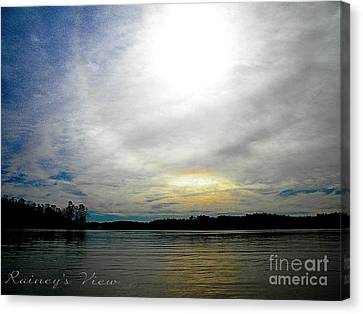 All The Colors Of The Day Canvas Print by Lorraine Heath