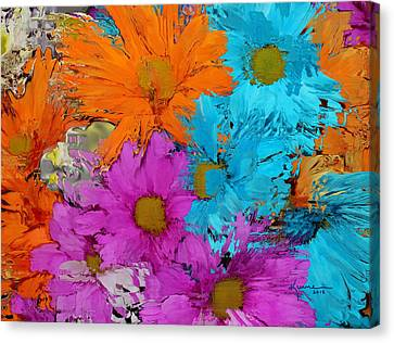 All The Flower Petals In This World 2 Canvas Print by Kume Bryant