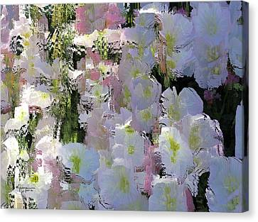 All The Flower Petals In This World Canvas Print by Kume Bryant