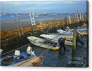 All Tied Up In Mattapoisett Canvas Print by Amazing Jules