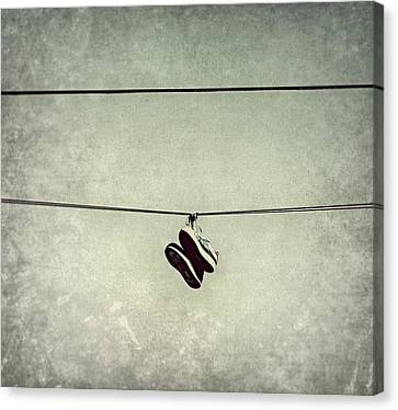 Canvas Print featuring the photograph All Tied Up by Melanie Lankford Photography