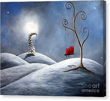 All We Need For Christmas By Shawna Erback Canvas Print by Shawna Erback