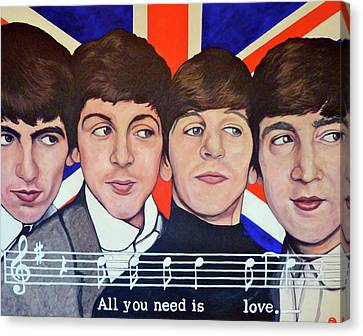 All You Need Is Love  Canvas Print by Tom Roderick