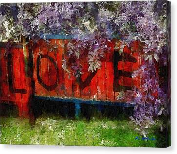 All You Need Is... Canvas Print by RC deWinter