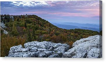 Allegheny Front Autumn Canvas Print by Jennifer Grover