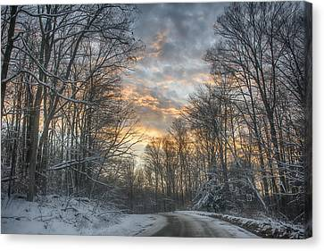 Allegheny Road Canvas Print by Wade Aiken