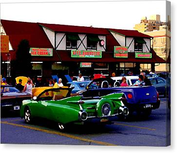 Allentown Pa Meetin' At The Ritz Canvas Print by Jacqueline M Lewis