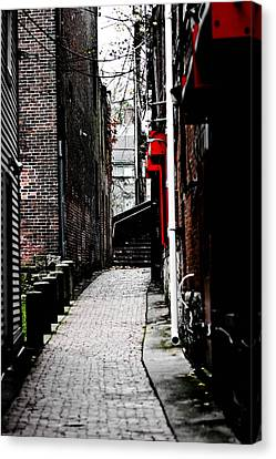 Alley Canvas Print by Allan Millora