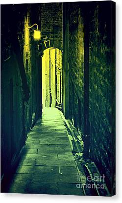 Canvas Print featuring the photograph Alleyway by Craig B