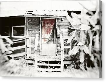 Canon 7d Canvas Print - Alligator Bayou Bar by Scott Pellegrin