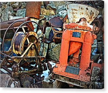 Allis Chalmers 1898 Canvas Print by Lee Craig