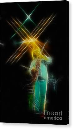 Allman-dickie-95-ga14a-fractal Canvas Print by Gary Gingrich Galleries