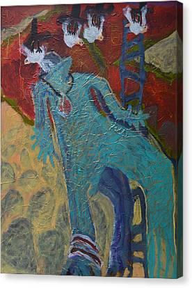 Allmarine Canvas Print by Nancy Mauerman