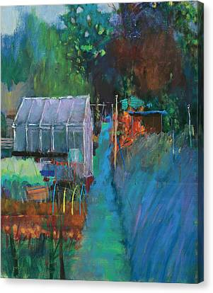 Allotment Canvas Print by Marco Cazzulini