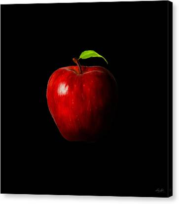 Alluring Red Canvas Print
