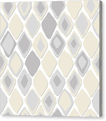 Patterned Canvas Print - Almas Diamond Pure by Sharon Turner