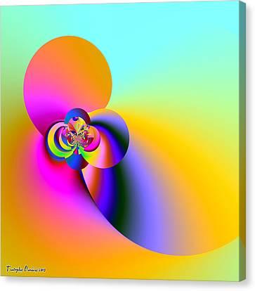 Almond Smell Heavenly. 2013 80/80 Cm.  Canvas Print by Tautvydas Davainis