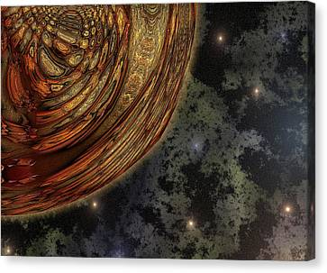 Almost Cosmos Canvas Print by Wendy J St Christopher