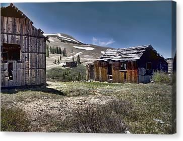 Old Mine Canvas Print - Almost Forgotten by Ellen Heaverlo