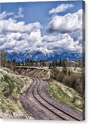 Almost Home Canvas Print by Aaron Aldrich