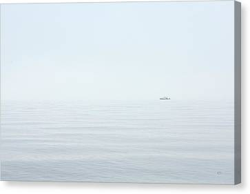 Almost Invisible Canvas Print by Karol Livote