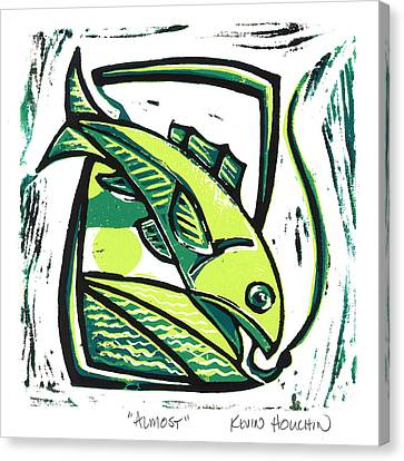 Lino Canvas Print - Almost by Kevin Houchin
