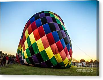 Almost Ready To Launch Canvas Print by Robert Bales