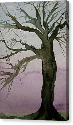 Canvas Print featuring the painting Almost Spring by Beverley Harper Tinsley