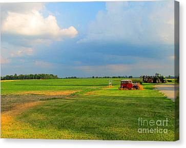 Almost Summer Landscape Canvas Print by Tina M Wenger