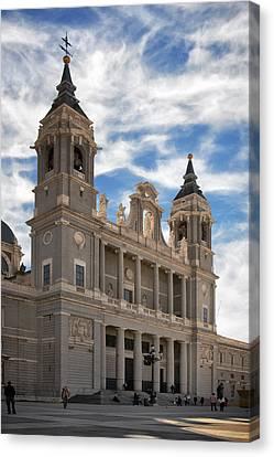 Almudena Cathedral Canvas Print