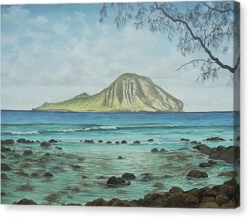 Aloha Kakahiaka Manana Canvas Print by Wallace Kong