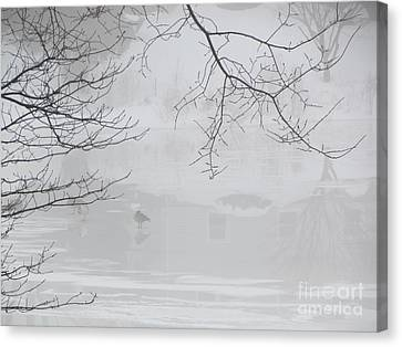 Alone Canvas Print by Beth Saffer