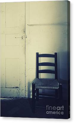 Alone In A Room Canvas Print by Margie Hurwich