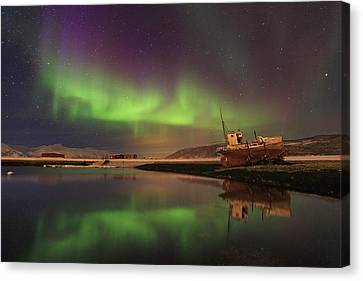 Alone In The Night ... Canvas Print by Iurie Belegurschi