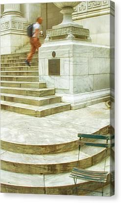 Alone Canvas Print by Karol Livote
